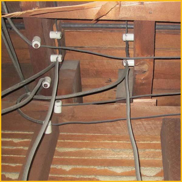 Knob And Tube Wiring Removal | Knob Tube Removal Lethbridge Lethbridge Electric Ltd